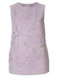 Bambah Serena flower tunic - Purple