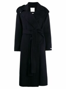 Sportmax belted midi coat - Blue