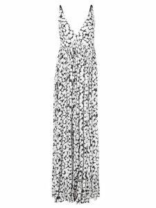 Proenza Schouler Painted Dot Maxi Dress - White
