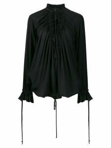 Dsquared2 ruffle blouse - Black