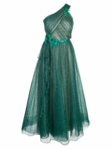 Marchesa Notte embellished midi dress - Green
