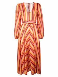 Zimmermann striped maxi dress - Orange