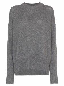 Jil Sander cashmere relaxed jumper - Grey