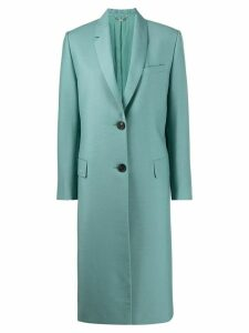Fendi tailored overcoat - Blue
