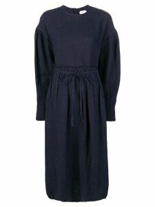 École De Curiosités longsleeved dress - Blue