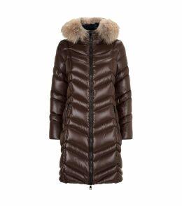 Fulmar Fox Fur Trim Coat