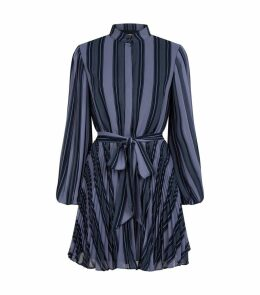 In Motion Stripe Mini Dress