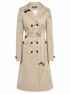 Miu Miu double-breasted trench coat - Neutrals