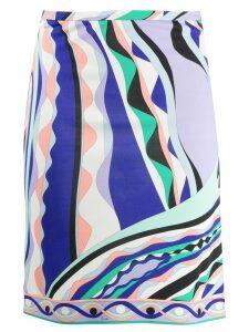 Emilio Pucci Burle Print Skirt - Green
