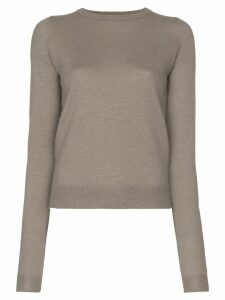 Rick Owens knitted cashmere jumper - Grey