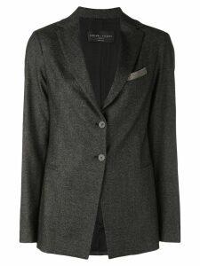 Fabiana Filippi tailored blazer - Grey