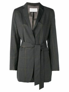 Fabiana Filippi mid-length blazer - Grey