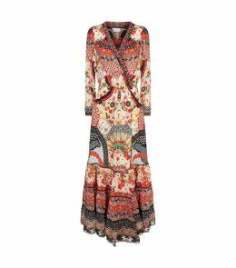 Vintage Vixen Cross Front Maxi Dress