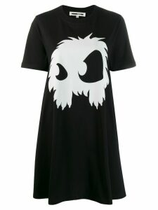McQ Alexander McQueen Monster T-shirt dress - Black