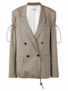 Nina Ricci check blazer - Neutrals