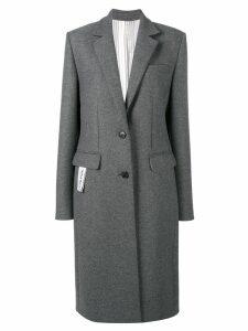 Nina Ricci single-breasted coat - Grey