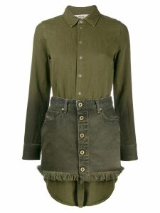 Diesel De-Dezy-Z shirt dress - Green