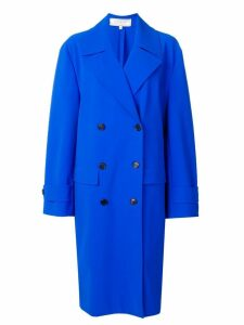 Nina Ricci Electrique double-breasted coat - Blue