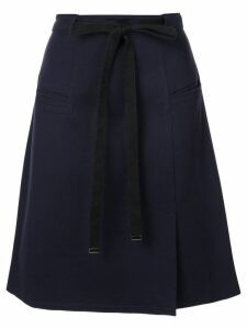 Tibi Bond stretch knit skirt - Blue