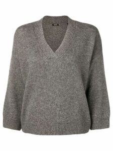 Aspesi V-neck jumper - Grey