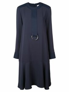 Tibi Triacetate drop waist dress - Blue