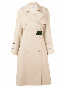 Nina Ricci Sable trench coat - NEUTRALS