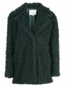 Tibi textured pea coat - Green