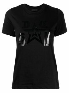 Diesel graphic print T-shirt - Black