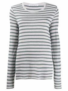 Alexander Wang stripe top - Grey