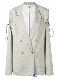 Nina Ricci Clair check blazer - Neutrals