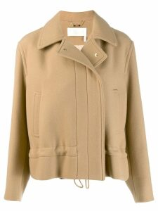 Chloé concealed front jacket - Neutrals