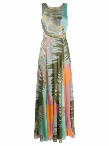 Missoni lurex knit maxi dreess - Green