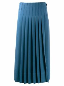 Calvin Klein pleated skirt - Blue