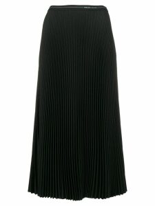 Prada pleated midi skirt - Black