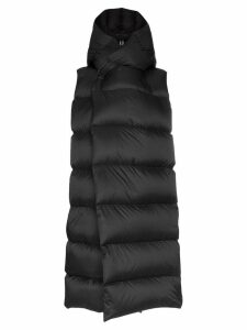 Rick Owens oversized puffer gilet - Black