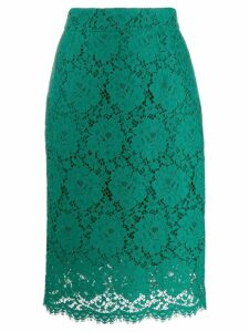 Dolce & Gabbana lace midi skirt - Green