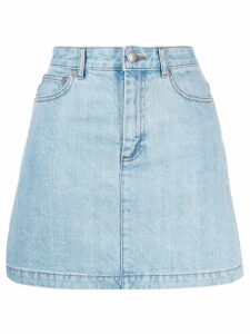 A.P.C. jean skirt - Blue