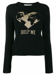 Alberta Ferretti Help Me jumper - Black