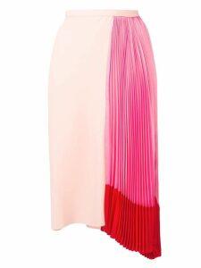 Marni pleated draped skirt - Pink