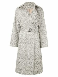 Georgia Alice belted trench coat - Brown