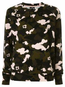 The Upside camouflage print sweatshirt - Multicolour