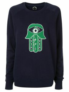 The Upside hamsa hand sweatshirt - Blue