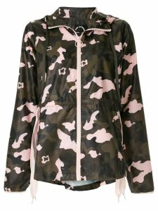 The Upside camouflage hooded jacket - Multicolour