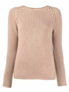 'S Max Mara cable knit jumper - Neutrals