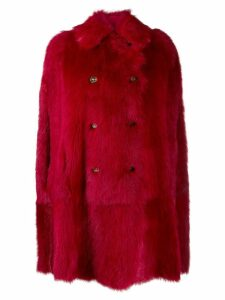 Red Valentino double-breasted midi coat