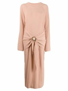 Nanushka ribbed dress - Neutrals