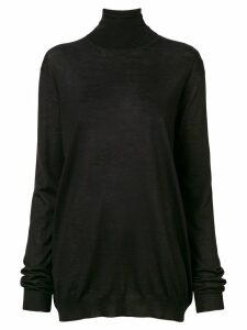 Prada turtleneck jumper - Black