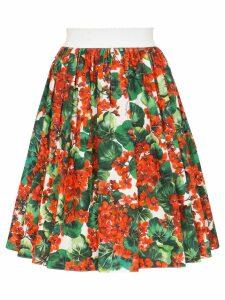 Dolce & Gabbana Portofino print skirt - Red