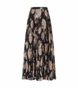 Nesrine Pleated Midi Skirt