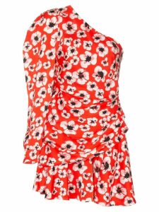 Borgo De Nor Christina floral print mini dress - Red